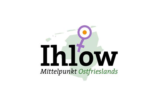 Das Logo der Gemeinde Ihlow im Zeichen der Weiblichkeit