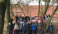 Kindergarten Regenbogen gewinnt ein Spielhäuschen