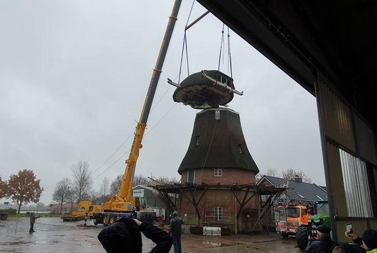 Sanierung der Mühle Berta in Ihlowerfehn