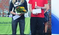 Die Sieger des 10 Kilometer Laufes