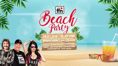 ffn Beachparty 2018 in Ihlow
