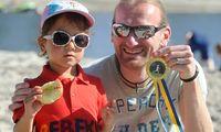 Für jeden Bambini-Teilnehmer gab es eine Medaille