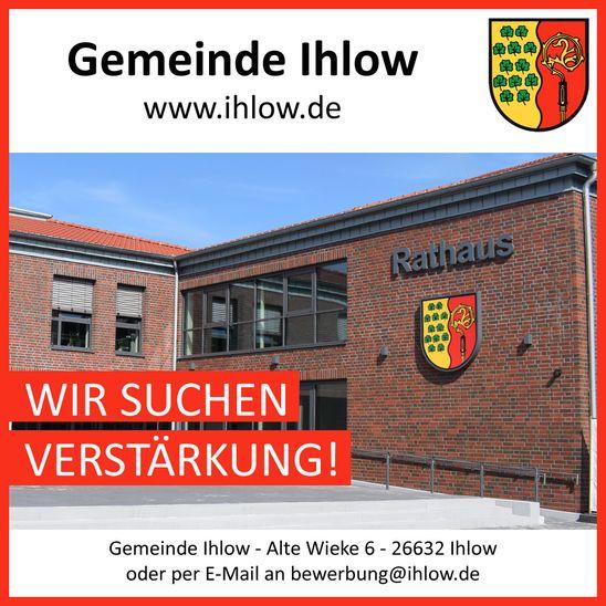 Die Gemeinde Ihlow sucht Verstärkung