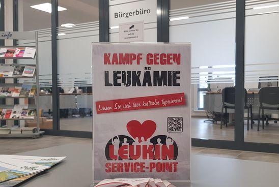 Im Bürgerbüro des Rathauses Ihlow ist nun ein Leukin Service Point eingerichtet