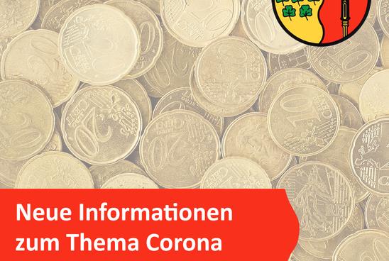 Informationen für Unternehmen: Finanzielle Unterstützungsangebote