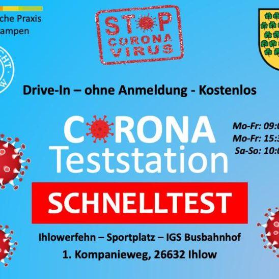 Erstes Corona-Schnelltestzentrum in Ihlow eröffnet