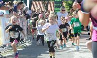 Auch die kleinen Läufer gaben alles beim Fuchsienlauf 2018