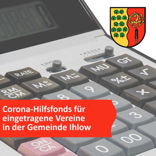 Corona-Hilfsfonds für eingetragene Vereine in der Gemeinde Ihlow