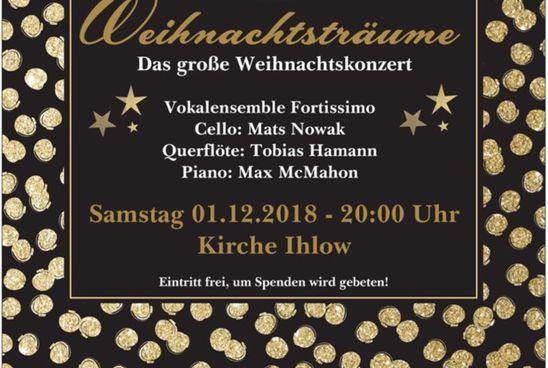 """Nils Schwarzenberg präsentiert """"Weihnachtsträume"""""""