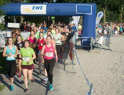 Start und Zielort des Fuchsienlaufes ist der Ferien- und Sportpark am Ihler Meer