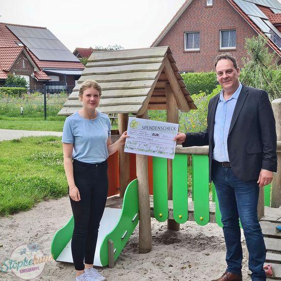 Spende für die Kinderkrippe Stöpkehuus