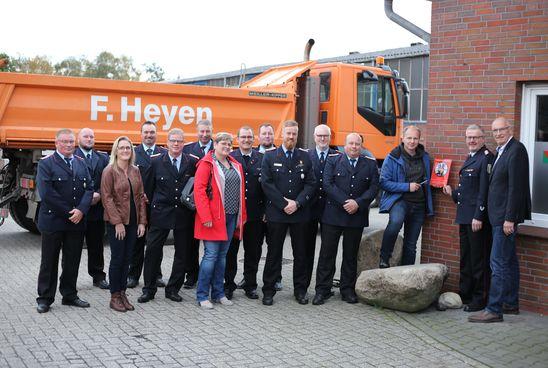 Bild: Gemeindepressesprecher Feuerwehr Ihlow, Pascal Coordes